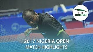 [동영상] ANDREEV Yavor VS 아르나 2017 ITTF 도전 나이지리아 오픈 베스트 64