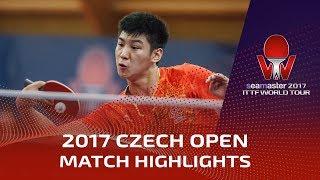 [동영상] 薛飛 VS PROKOPCOV Dmitrij 2017시 마스터 2017 체코 오픈