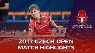 [동영상] 아드리 디아즈 VS 밋테루하무 2017시 마스터 2017 체코 오픈 결승