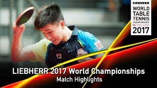 [동영상] 티아고 아폴로니아 VS NG Pak Nam LIEBHERR 2017 세계 탁구 선수권 대회 베스트 128