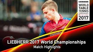 [동영상] PLETEA Cristian VS OMOTAYO Olajide LIEBHERR 2017 세계 탁구 선수권 대회
