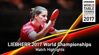 [동영상] ORTEGA Daniela VS ASCHWANDEN Rahel LIEBHERR 2017 세계 탁구 선수권 대회 베스트 64