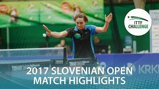 【동영상】 사토 히토미 VS CHENG Hsien-Tzu 2017 ITTF 도전, 슬로베니아 오픈 준결승