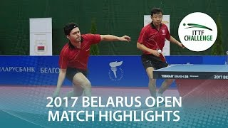 [동영상] GORAK Daniel · 王増翠 VS 목조 하야토 · 타카미 真己 2017 년 ITTF 도전, Belgosstrakh 벨라루스 오픈 결승