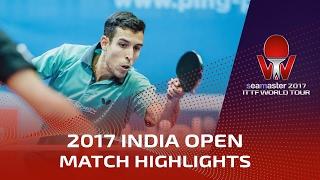 [동영상] 로블레스 VS GROVER Sudhanshu 씨마 스터 2017 인도 오픈