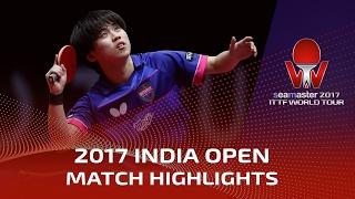[동영상] AKKUZU Can VS 사카이 내일 츠바사 씨마 스터 2017 인도 오픈