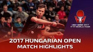 [동영상] 블라디미르 삼소노프 VS ROBINOT Quentin 씨마 스터 2017 헝가리 오픈 32 강