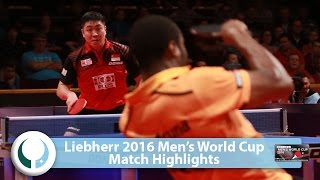 [동영상] 아루나 VS 가오닌 LIEBHERR 2016 남자 월드컵