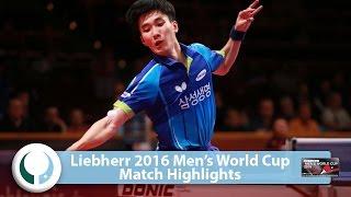 [동영상] 李尚洙 VS K 칼슨 LIEBHERR 2016 남자 월드컵