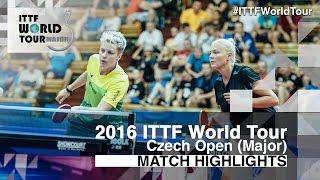 [동영상] 도루기후 · MIKHAILOVA Polina VS EKHOLM Matilda · POTA Georgina 2016 년 체코 오픈 결승