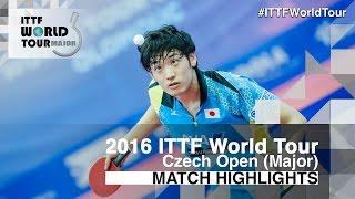 【동영상】 무라 소리 VS 조 勝敏 2016 년 체코 오픈 준결승