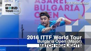 [동영상] ROBINOT Quentin VS PAIKOV Mikhail 2016 년 - Asarel 불가리아 오픈 준결승