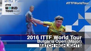 [동영상] NIELSEN Claus VS 타카 瑞基 2016 년 - Asarel 불가리아 오픈 준준결승
