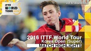 [동영상] 피치 포드 VS LIM Jonghoon 2016 년 한국 오픈 32 강
