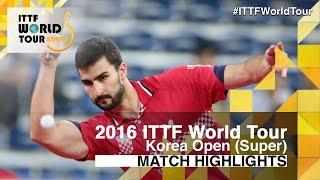 [동영상] 가시나 VS HWANG Minha 2016 년 한국 오픈 베스트 64