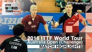 [동영상] 神巧也 · 모리타 侑樹 VS HACHARD Antoine · RUIZ Romain 2016 년 호주 오픈 결승
