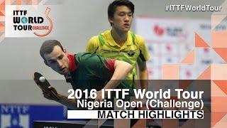 [동영상] BUKIN Andrey · FILATOV Vasilij VS CARVALHO Diogo · 디오고 첸 2016 년 프리미어 로또 나이지리아 오픈 결승