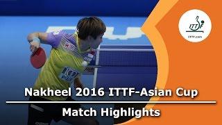 [동영상] 폰 · 티엔 웨이 VS 티에 야나 2016 년 ITTF 나 킬 아시안 컵 3 위 결정전