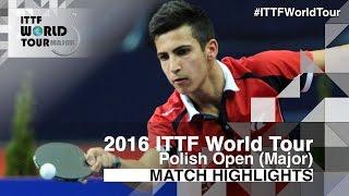 [동영상] WANG Zhixu VS AKKUZU Can 2016 년 폴란드 오픈 결승