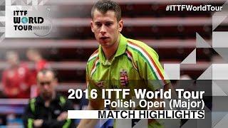 [동영상] KOSIBA Daniel VS AKKUZU Can 2016 년 폴란드 오픈 16 강