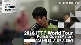 [동영상] SZYMANSKI Filip VS 부작 항평 2016 년 폴란드 오픈
