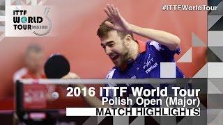 [동영상] ROBINOT Quentin VS WEERASINGHE Helshan 2016 년 폴란드 오픈