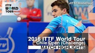 [동영상] LAMADRID Juan VS SANCHI Francisco 2016 년 칠레 오픈