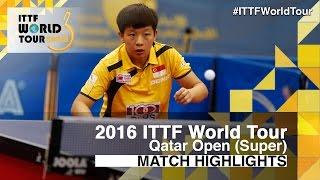 [동영상] ZENG Jian VS 하야 히나 2016 년 카타르 오픈 결승