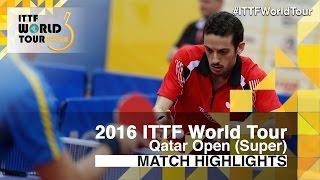 [동영상] 마르코스 프레이 타스 VS M. 칼슨 2016 년 카타르 오픈 32 강