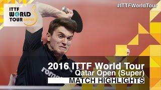 [동영상] 에레루 파 VS SZOCS Hunor 2016 년 카타르 오픈 베스트 64