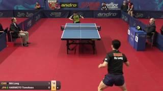 [동영상] 馬龍 VS 장훈 토모카즈 2015 년 폴란드 오픈 베스트 64