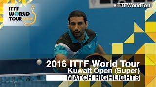 [동영상] 티아고 아폴로니아 VS LASHIN El-Sayed 2016 년 쿠웨이트 오픈 32 강