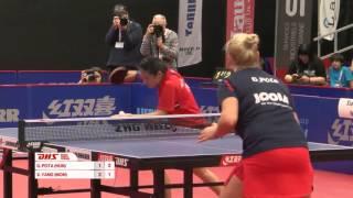 [동영상] YANG Xiaoxin VS POTA Georgina 2016 년 스위스 오픈 결승