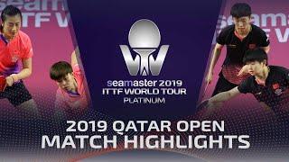 【동영상】딩닝・WANG Yidi VS SUN Yingsha・WANG Manyu 2019 ITTF 월드 투어 플래티넘 카타르 오픈 결승
