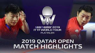 【동영상】마롱 VS 쉬신 2019 ITTF 월드 투어 플래티넘 카타르 오픈 준결승