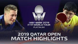 【동영상】KARLSSON Mattias VS 하리모토 토모카즈 2019 ITTF 월드 투어 플래티넘 카타르 오픈 준준결승