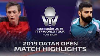 【동영상】리암 피치포드 VS 노샤드 알라미얀 2019 ITTF 월드 투어 플래티넘 카타르 오픈 베스트64
