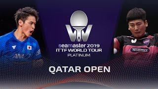 【동영상】서현덕 VS 유야 오시마 2019 ITTF 월드 투어 플래티넘 카타르 오픈 베스트128