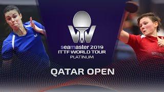 【동영상】ODOROVA Eva VS MITTELHAM Nina 2019 ITTF 월드 투어 플래티넘 카타르 오픈 베스트128