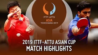 【동영상】GNANASEKARAN Sathiyan VS 마롱 2019 ITTF-ATTU 아시안 컵 준준결승