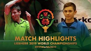 【동영상】SZUDI Adam VS MAHMUTI Kreshnik 2019 세계 탁구 선수권 대회