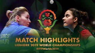 【동영상】SZOCS Bernadette VS ORTEGA Daniela 2019 세계 탁구 선수권 대회 베스트128