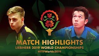 【동영상】MOREGARD Truls VS 호콴킷 2019 세계 탁구 선수권 대회 베스트128