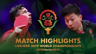 【동영상】마롱 VS 블라디미르 삼소노프 2019 세계 탁구 선수권 대회 베스트32