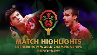 【동영상】드미트리 오브차로프 VS PUCAR Tomislav 2019 세계 탁구 선수권 대회 베스트32