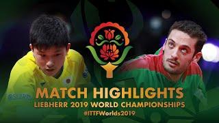 【동영상】하리모토 토모카즈 VS 마르코스 프레이타스 2019 세계 탁구 선수권 대회 베스트32