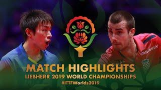 【동영상】니와 코키 VS PUCAR Tomislav 2019 세계 탁구 선수권 대회 베스트16