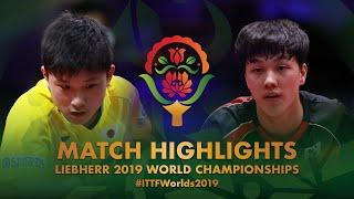 【동영상】하리모토 토모카즈 VS AN Jaehyun 2019 세계 탁구 선수권 대회 베스트16