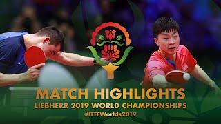 【동영상】마롱 VS 휴고 칼데라노 2019 세계 탁구 선수권 대회 베스트16