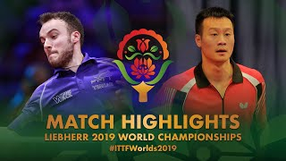 【동영상】시몽 고지 VS WANG Yang 2019 세계 탁구 선수권 대회 베스트16